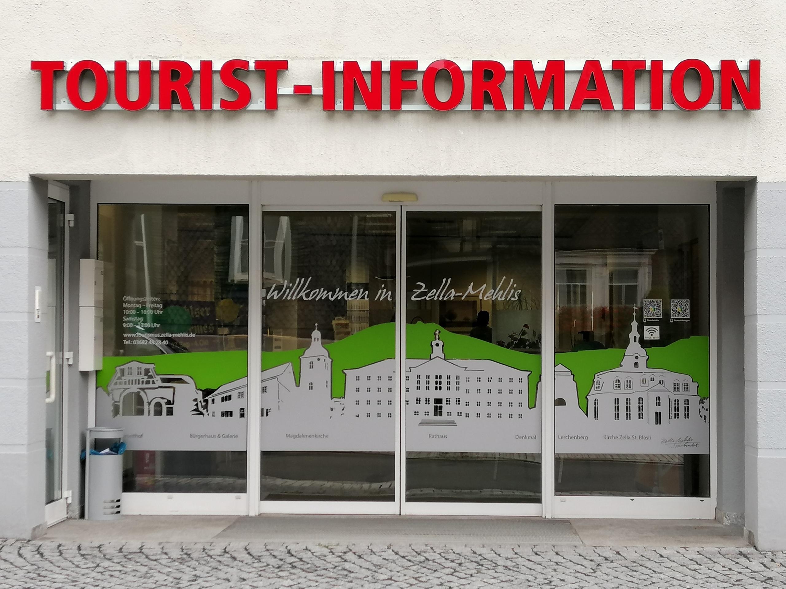 Tourist-Information geschlossen!