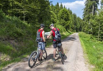 MTB-Trail Rhön-Rennsteig-Radweg