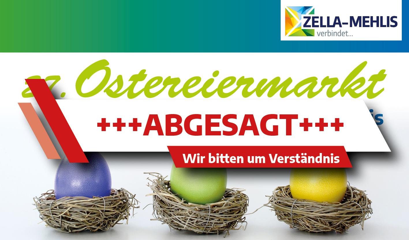 ABGESAGT - 27. Ostereiermarkt im Bürgerhaus Zella-Mehlis