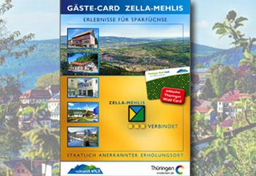 Gästecard Zella-Mehlis